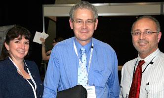 Prof Colleen Nelson (APCRC-Q), Dr Roger Stanley (QAAFI, UQ), Mario Pennisi (Life Sciences Qld)