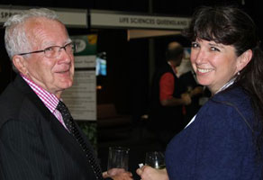 Prof Ron Quinn (Griffith Uni), Prof Colleen Nelson (APCRC-Q)