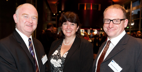IHBI Gala 2011 - Ross Young, Colleen Nelson, Nick Graves