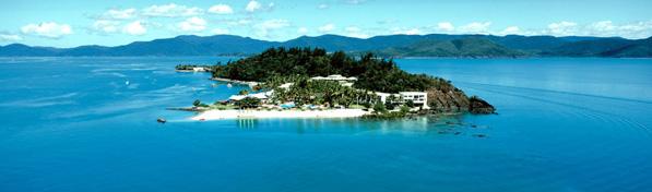 Daydream Island aerial 597