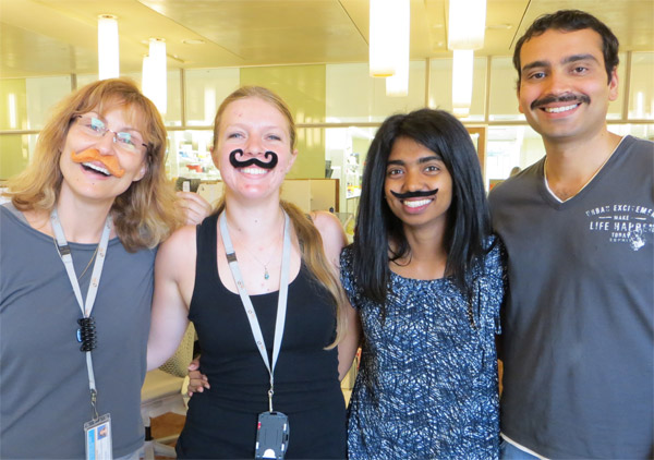 APCRC-Q supporting Movember